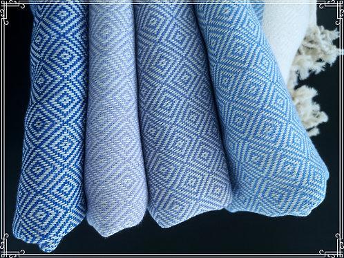 Timantti hamam-pyyhe 100x180cm