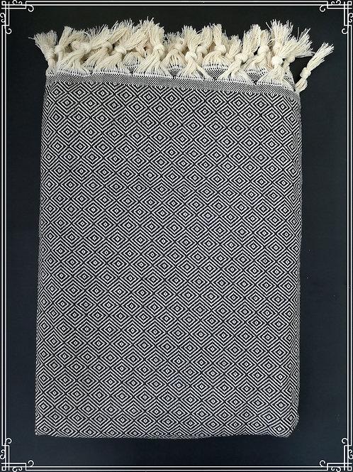 Timantti peitto 160x240cm musta