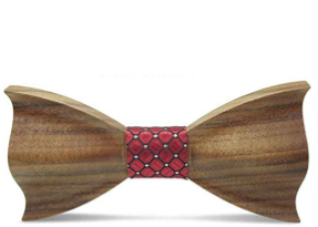 Men's Wooden Adult Bow Tie