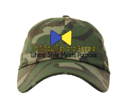 T&N Bow Ties and Apparel Sports Hat/Camouflage
