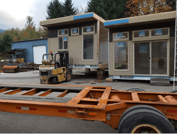 Factory-house on the move