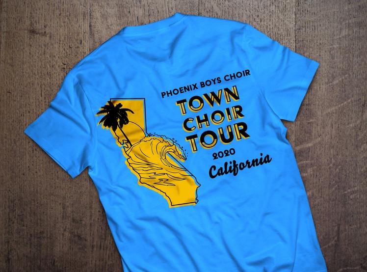 Town Choir Tour Tee Shirt