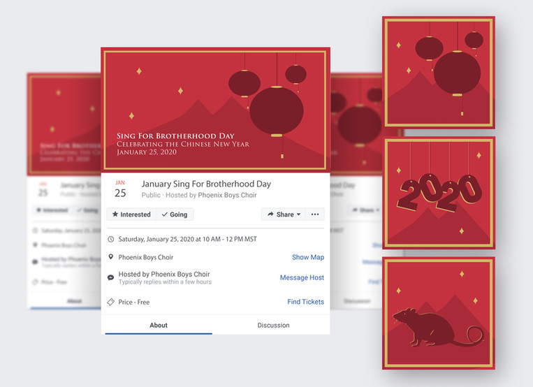 Digital Illustration - Jan. Sing For Brotherhood Day