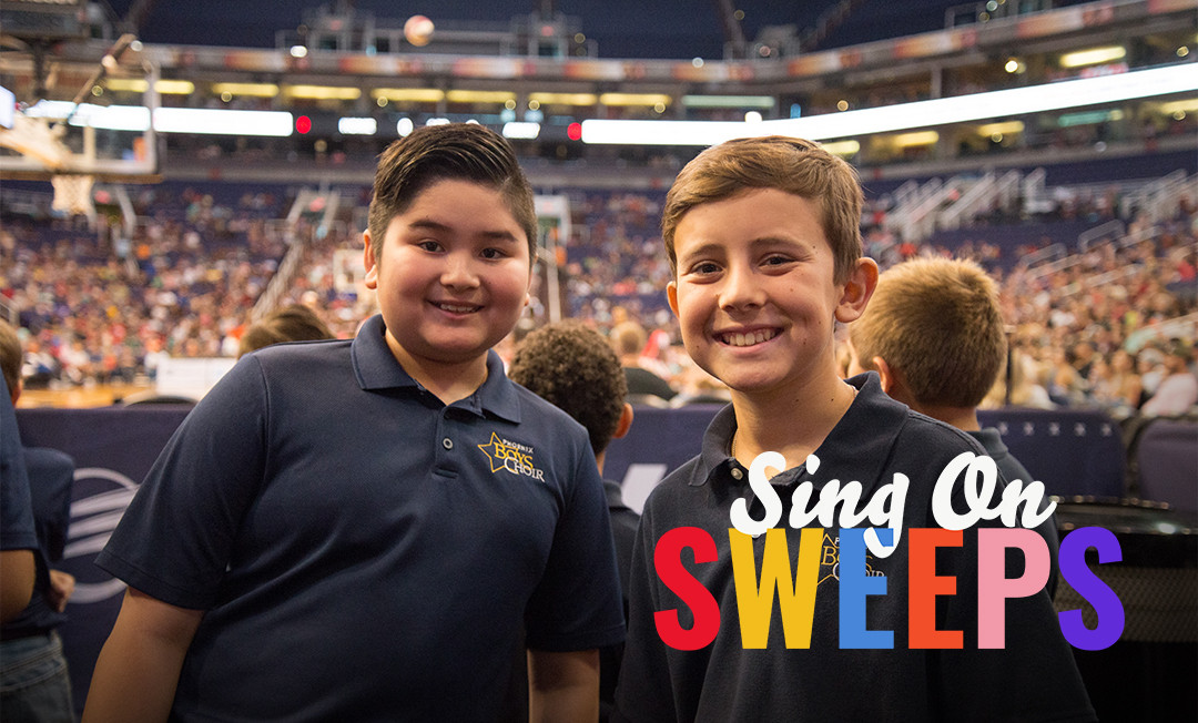 Sing On Sweeps Fundraiser