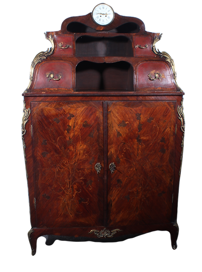 Louis XVI French hall cabinet