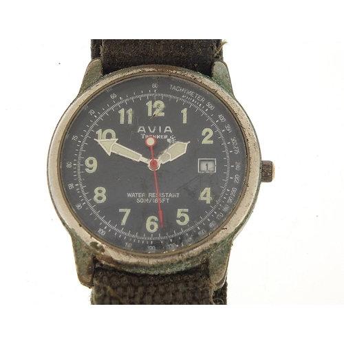 Avia Trekker divers wristwatch with date aperture