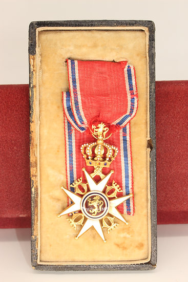 Royal Norwegian order St Olav Knights Cross 1st class