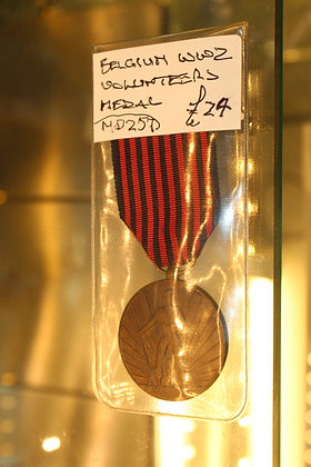 Belgium WW2 volunteer medal