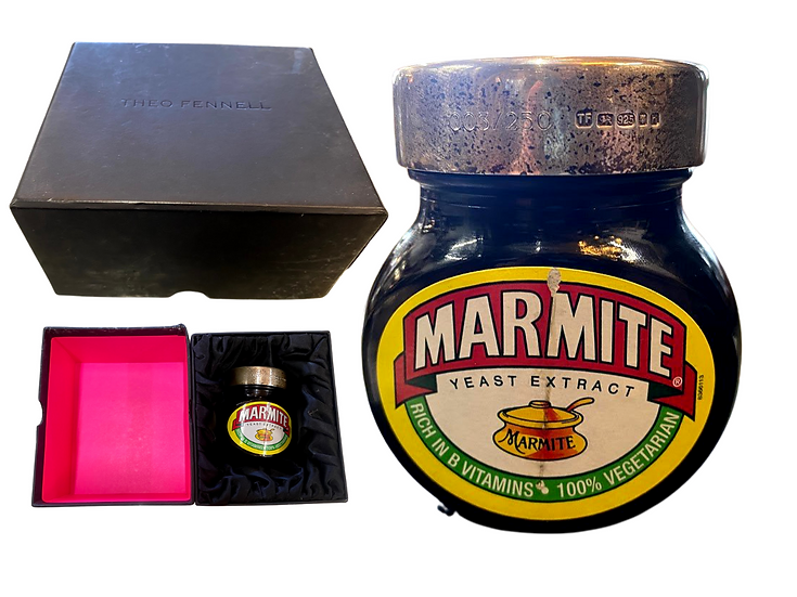 Theo Fennell limited edition 'MARMITE' Silver lid on jar number 3/25.