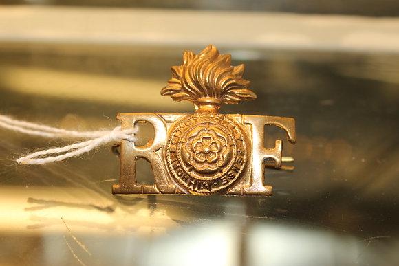 The Royal Fusiliers shoulder badge, City of London regiment