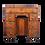 Thumbnail: Queen Anne style kneehole desk