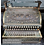 Thumbnail: A brass National cash register No 45, serial no 127724, on plinth base