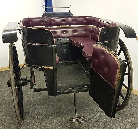 Black Victorian Governess horse drawn carriage, C H Wedbury