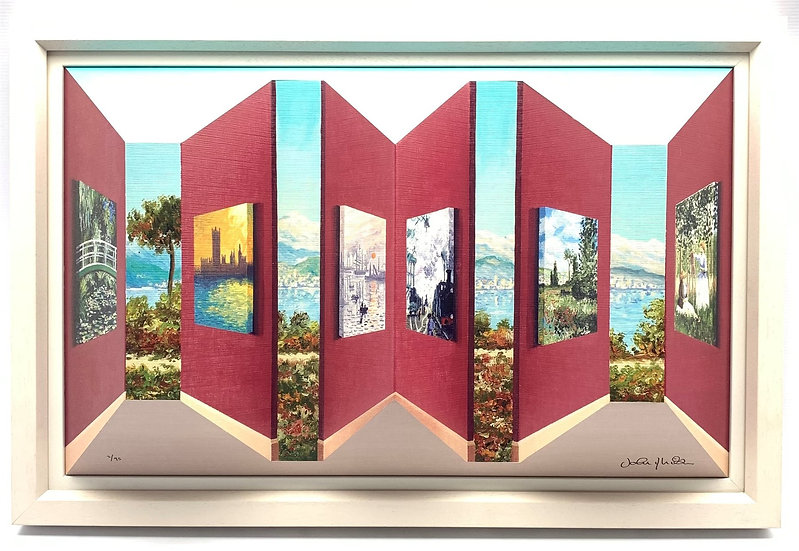 Contemporary John Wilson 3D Print, 'Monet Gallery