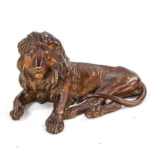 A Franz Bergman patinated bronze sculpture