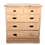Thumbnail: A 19th century stripped pine chest