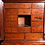Thumbnail: A late 18th century early 19th century walnut table top collectors cabinet.