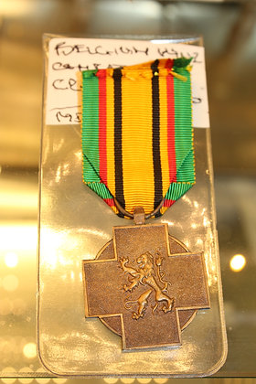 Belgium WW2 combatant cross
