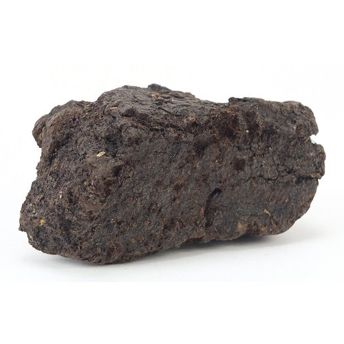 Peat reputedly from the first non-stop transatlantic flight in 1919