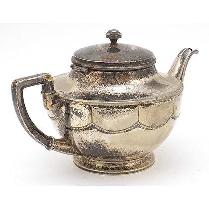 WMF, German Art Nouveau silver plated teapot