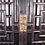 Thumbnail: A 19th C Chinese hardwood birdcage cabinet