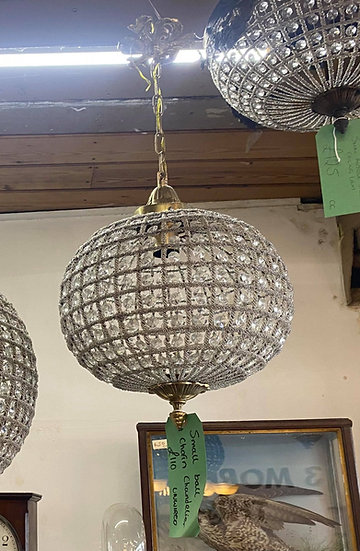 Ball & chain chandelier - SMALL