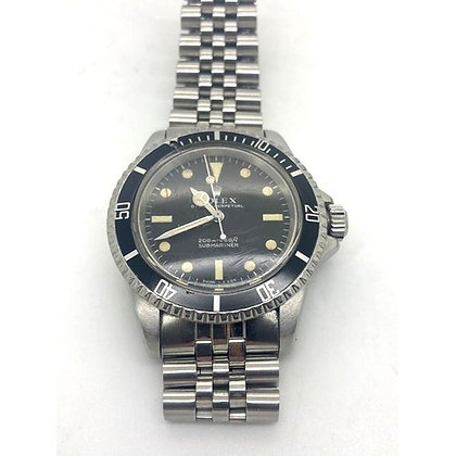 Rolex Oyster Perpetual Submariner stainless steel automatic wristwatch