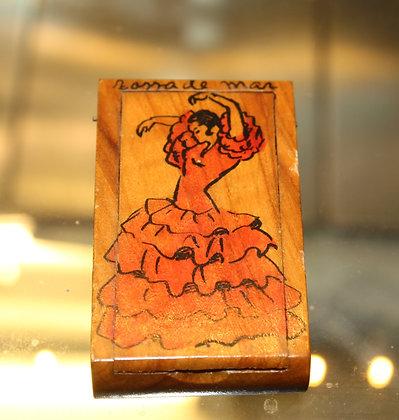 Spanish wooden vesta