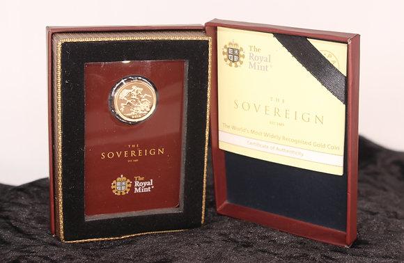 2019 Gold full sovereign