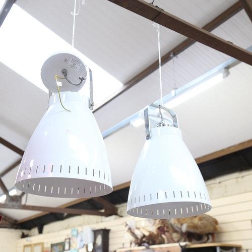 Industrial design white ceiling light fittings