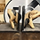 Thumbnail: Pair of wooden painted 'PIG' bookends.