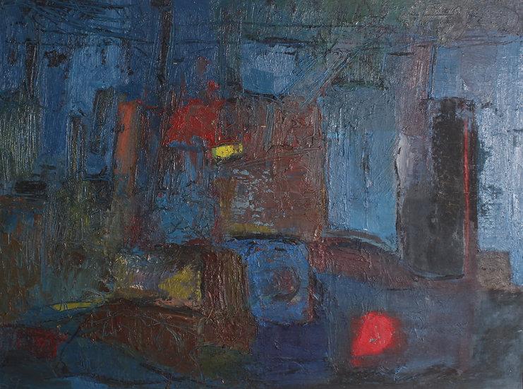 'RENOS LOIZOU' 1948 - 2013 oil painting on board