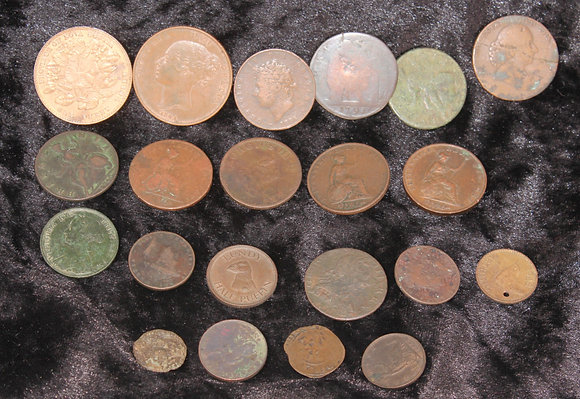 19th century &later world coinage and tokens to include a1841 penny etc