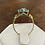 Thumbnail: A 9ct gold ring, size S, weighing 2.4g