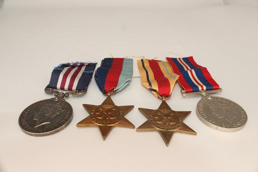 Medal set belonging to 1598338 Acting Sergeant Charles Henry Payne