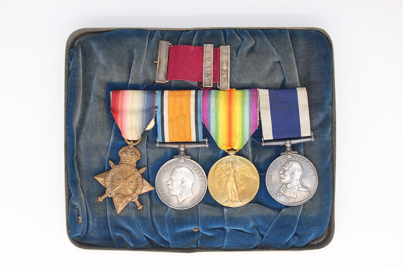 A 4 medal group awarded to CH 20821 PTE.H.HUNT R.M.L.I