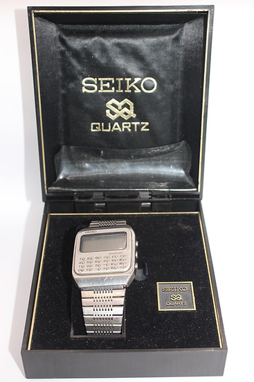 VINTAGE SEIKO DIGITAL CALCULATOR WATCH - C153-5007