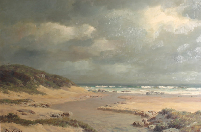 A 'Roy Taylor' 20th century oil on board