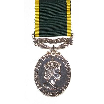 British military Elizabeth II Territorial Efficiency medal