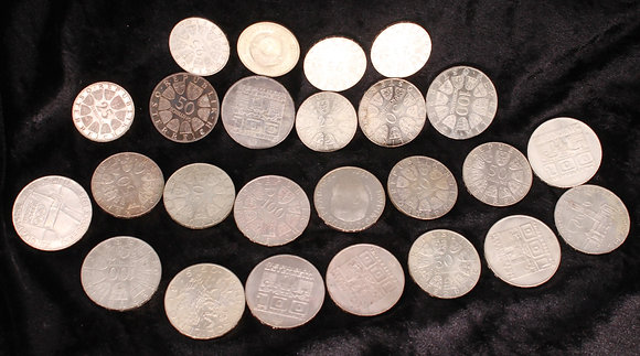 Collection of 1970's Austrian part silver coinage