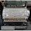 Thumbnail: A chrome National cash register No 357, serial no 61958, on black plinth base