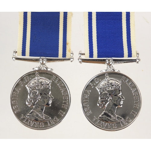 Two Elizabeth II Police Long Service & Good Conduct medals
