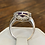 Thumbnail: A 9ct white gold & amethyst ring, size O, weighing 2.8g