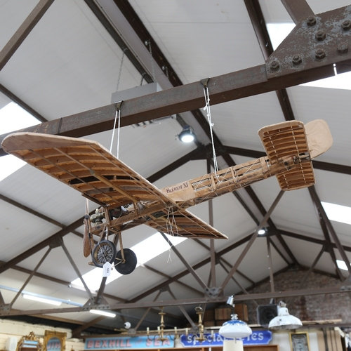 Clive Fredriksson, handmade sculpture, an early plane