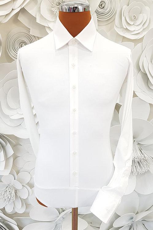 Camicia B-Stretch bianca