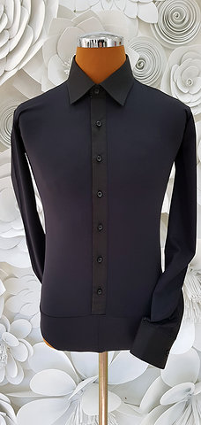 Camicia B-Stretch nera