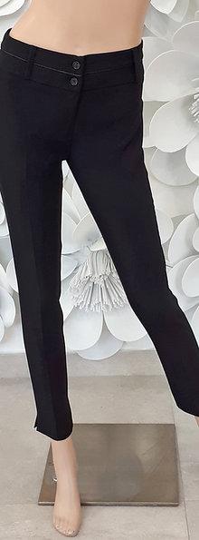 Pantalone elastico rasino sulla cintura
