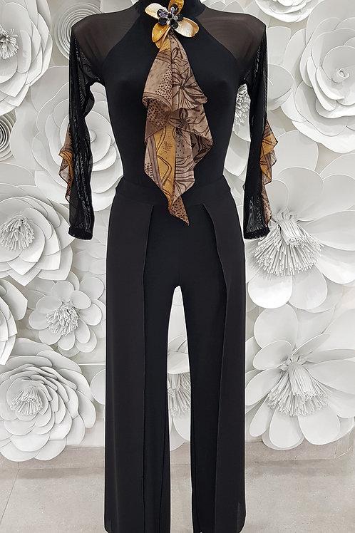 Completo body voile e pantalone