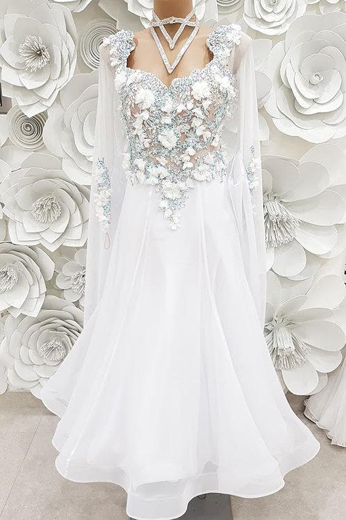 Ballroom White Flower