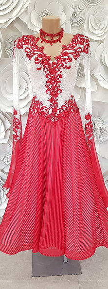 Ballroom White Red